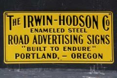 Stamped Metal by Irwin Hodson