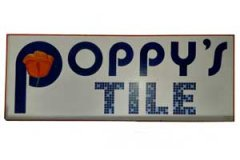 Poppy's Tile, Hand-Painted by Paintin' Place Signs