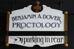 Ben Dover Handlettering and Construction by Dave Rocha