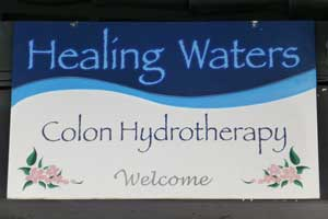 Healing Waters, Hand-Painted