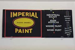Imperial Paint Tempera on Showcard