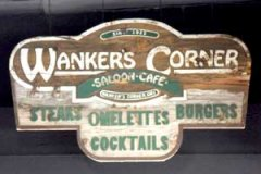 Wanker's Corner Hand-Chiseled