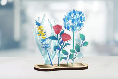 Roland LV Series Acrylic Flowers